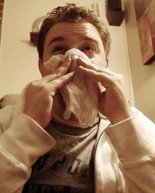 nariz entupido