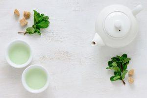 Dicas para estar em forma com chá verde