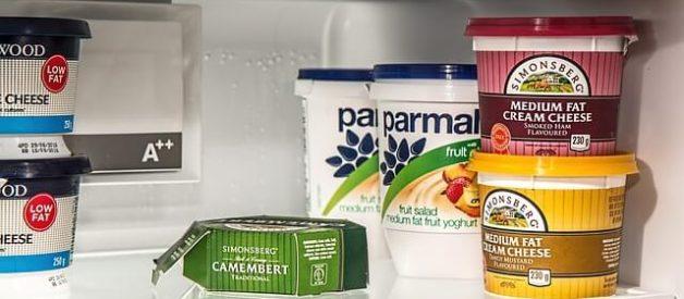 Cuidado com os alimentos no frigorífico