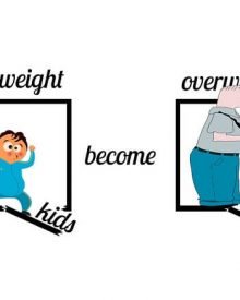 10 conselhos para evitar a obesidade das crianças