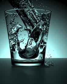 água emagrece