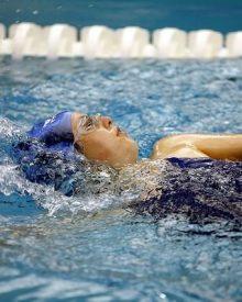Queimar calorias a nadar