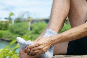 dores de pés
