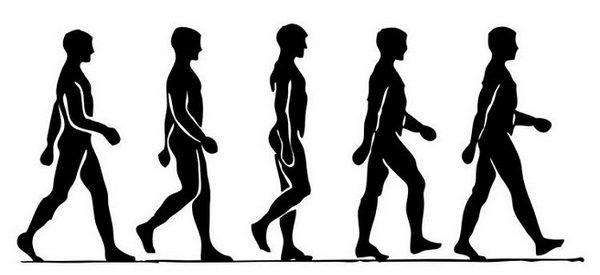 caminhar correctamente