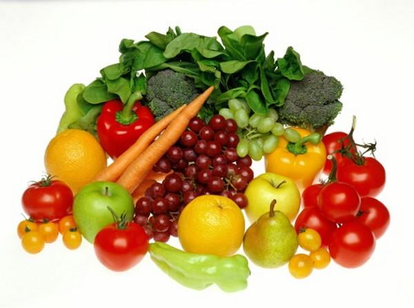 fruta e verduras