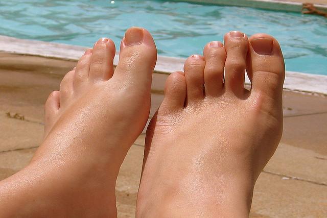 saúde dos pés