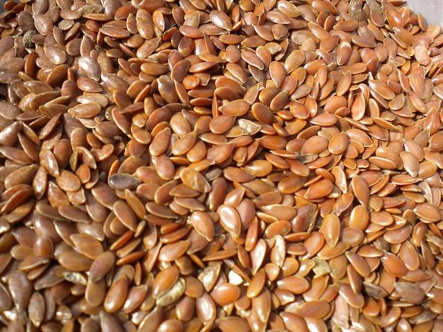 sementes de linhaça