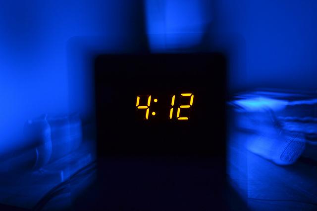 deitar cedo