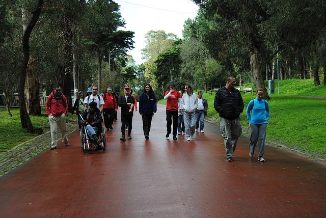 Benefícios de caminhar todos os dias