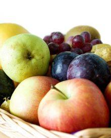 frutas com mais fibra