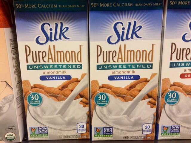 leite de amendoa