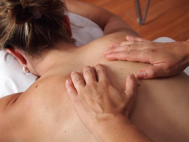 massagens costas
