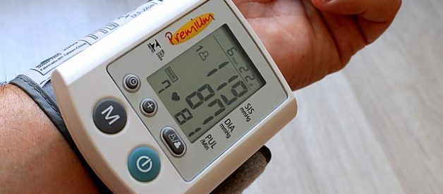 medir tensão arterial