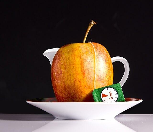 Chá de maçã