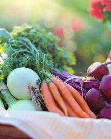 Alimentos da dieta detox