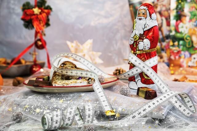 alimentação saudável no Natal