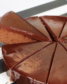 Bolo de Chocolate Whey Protein