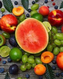 vegetais de cor verde